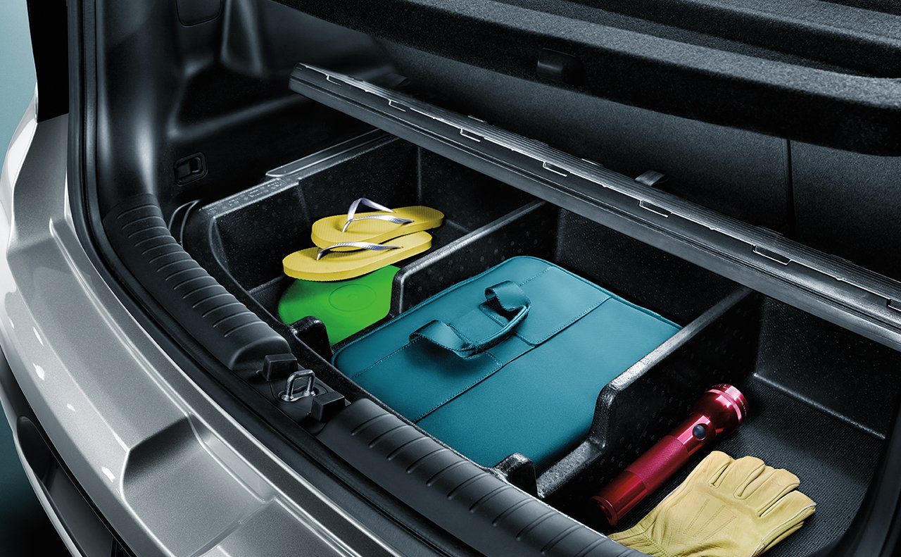 Storage Options in the 2019 Soul