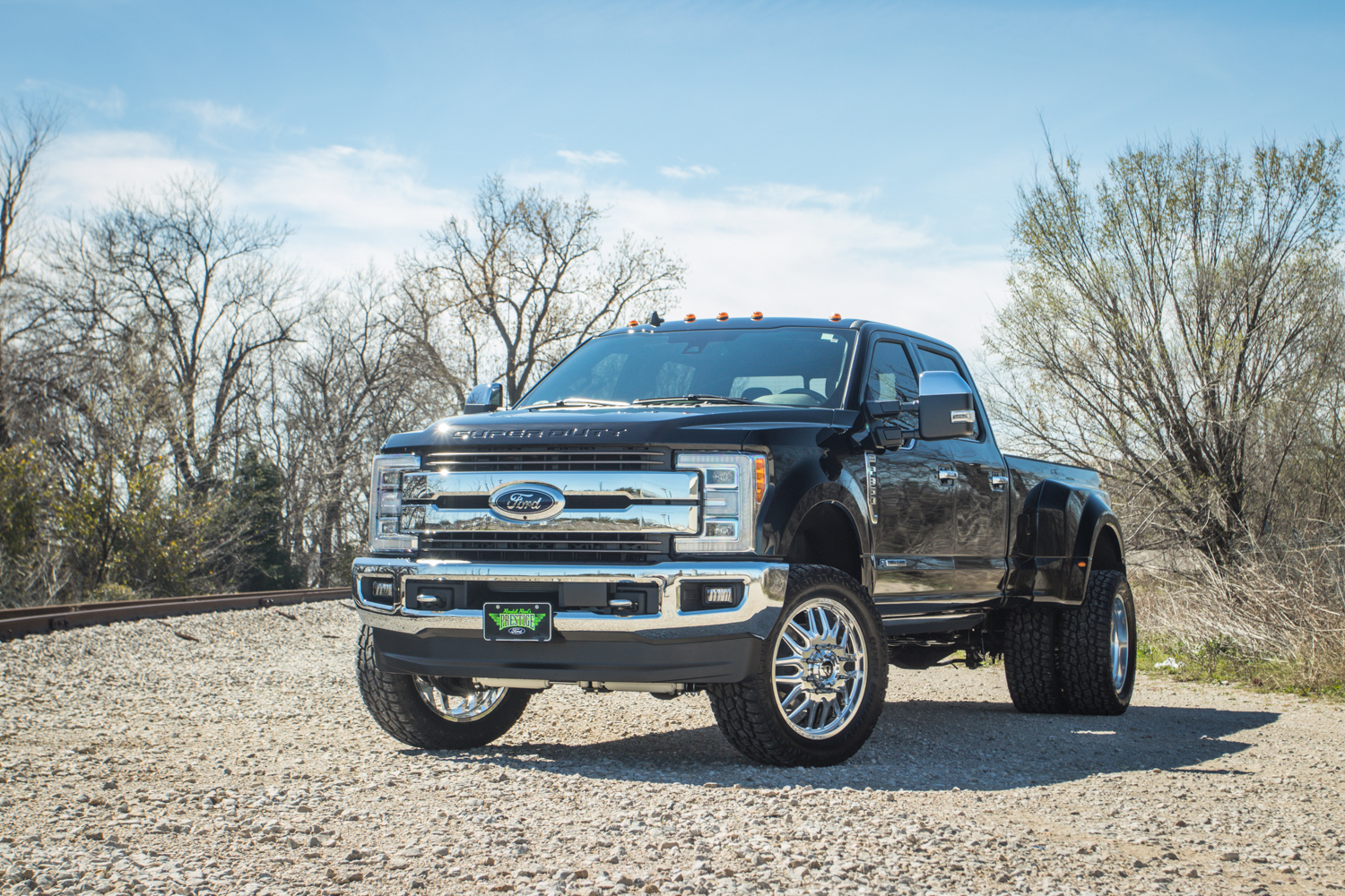 Used Ford F350 Dually Wheels >> 2019 Ford F 350 Dually Chrome Fuel Forged Wheels