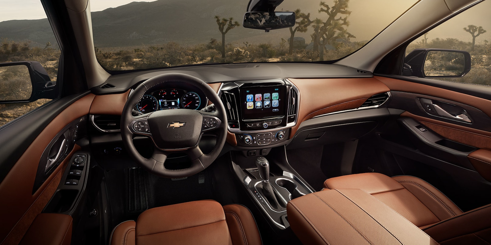 Interior of the 2019 Chevrolet Traverse
