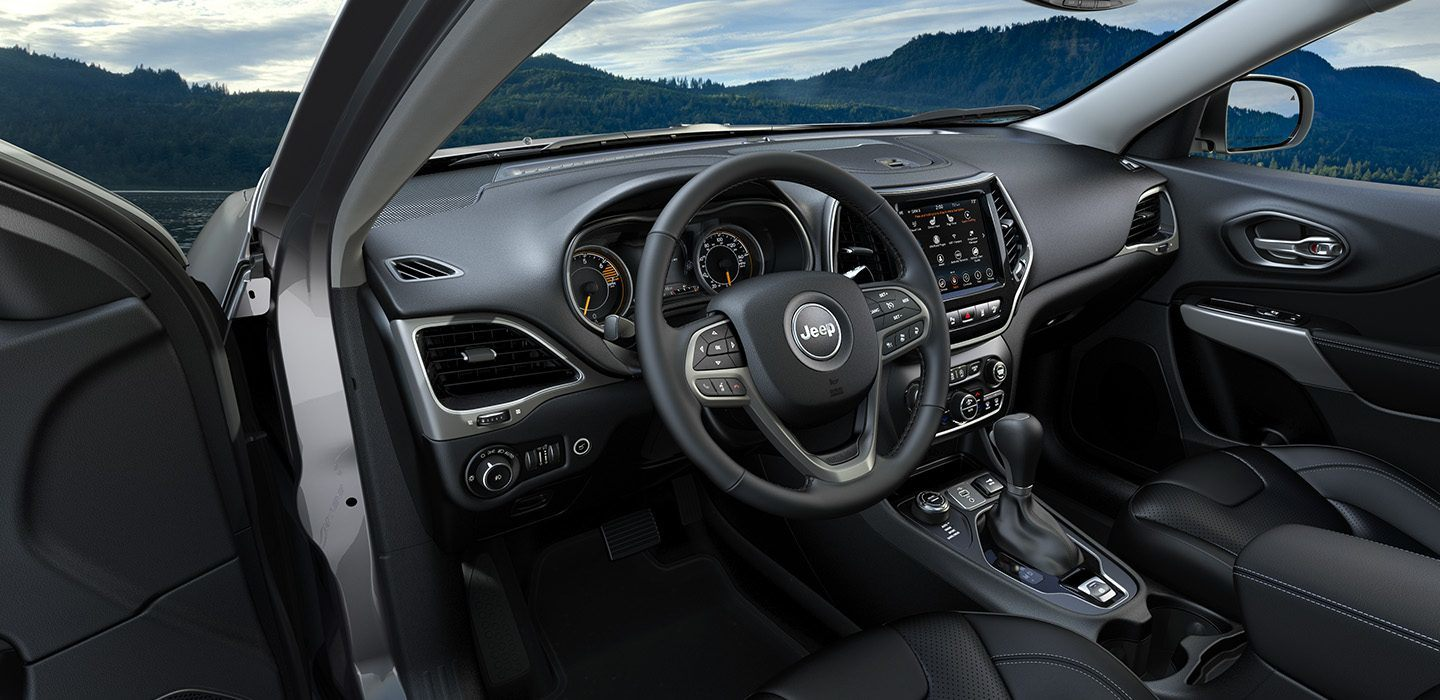 2019 Jeep Cherokee Cockpit