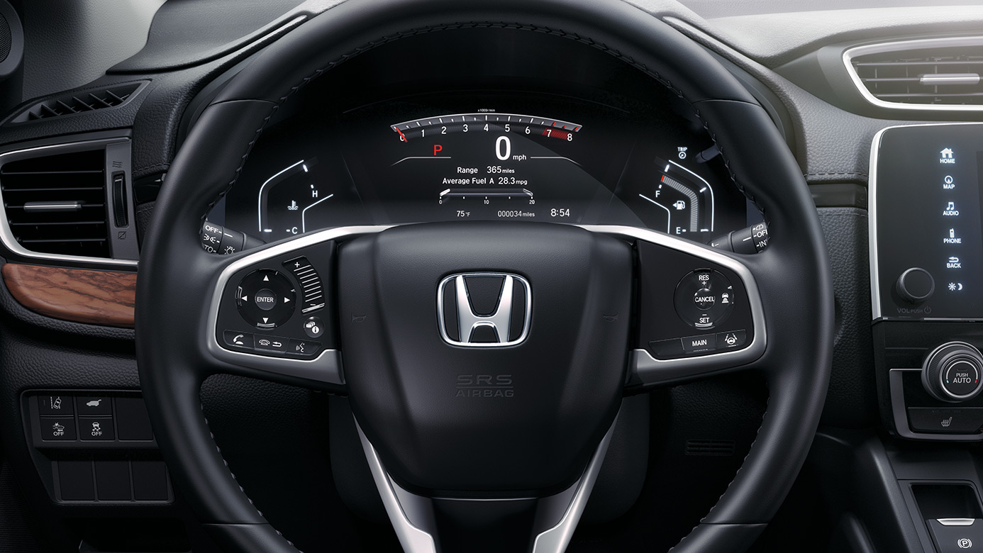 2019 Honda CR-V Leather-Wrapped Steering Wheel