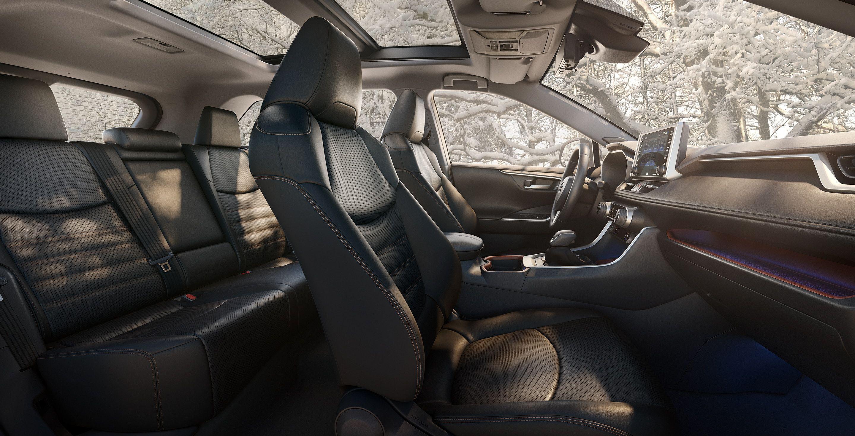Cozy Cabin of the 2019 Toyota RAV4