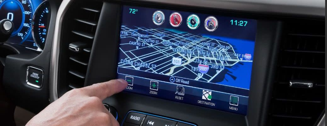 High-Tech Features in the Acadia