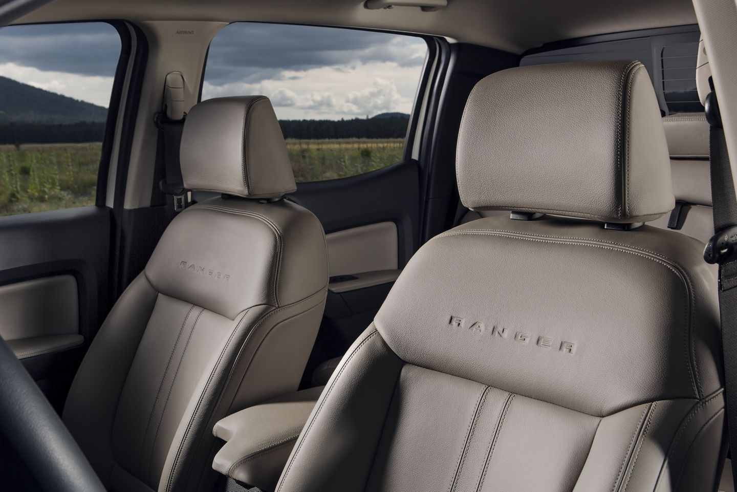 2019 Ford Ranger Interior Seating