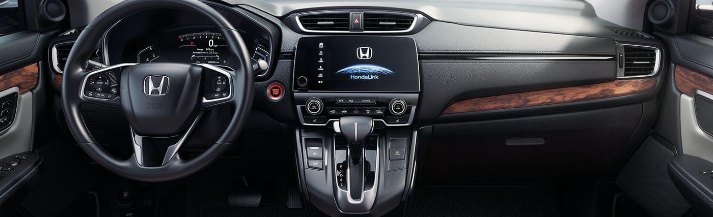2019 Honda Civic CR-V Dashboard