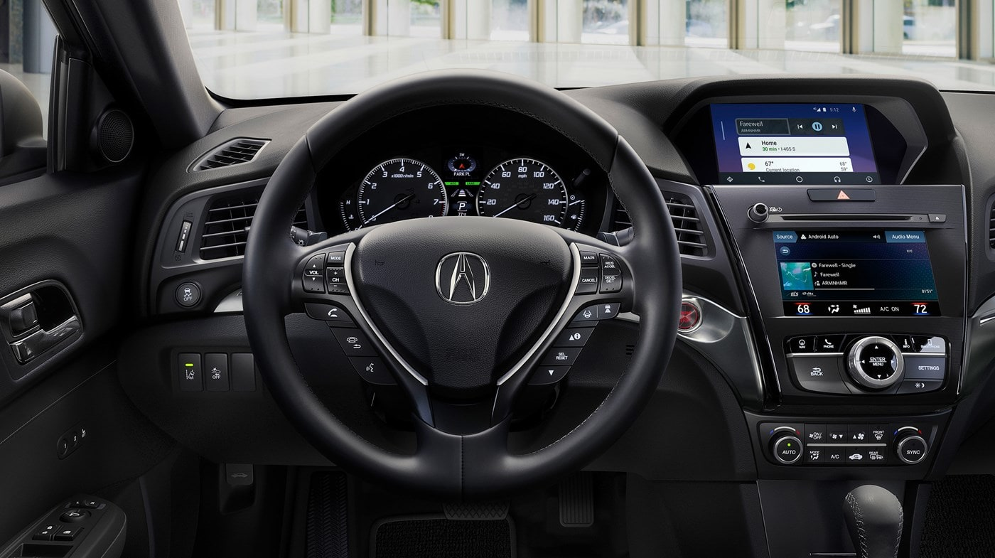 Interior of the 2019 Acura ILX