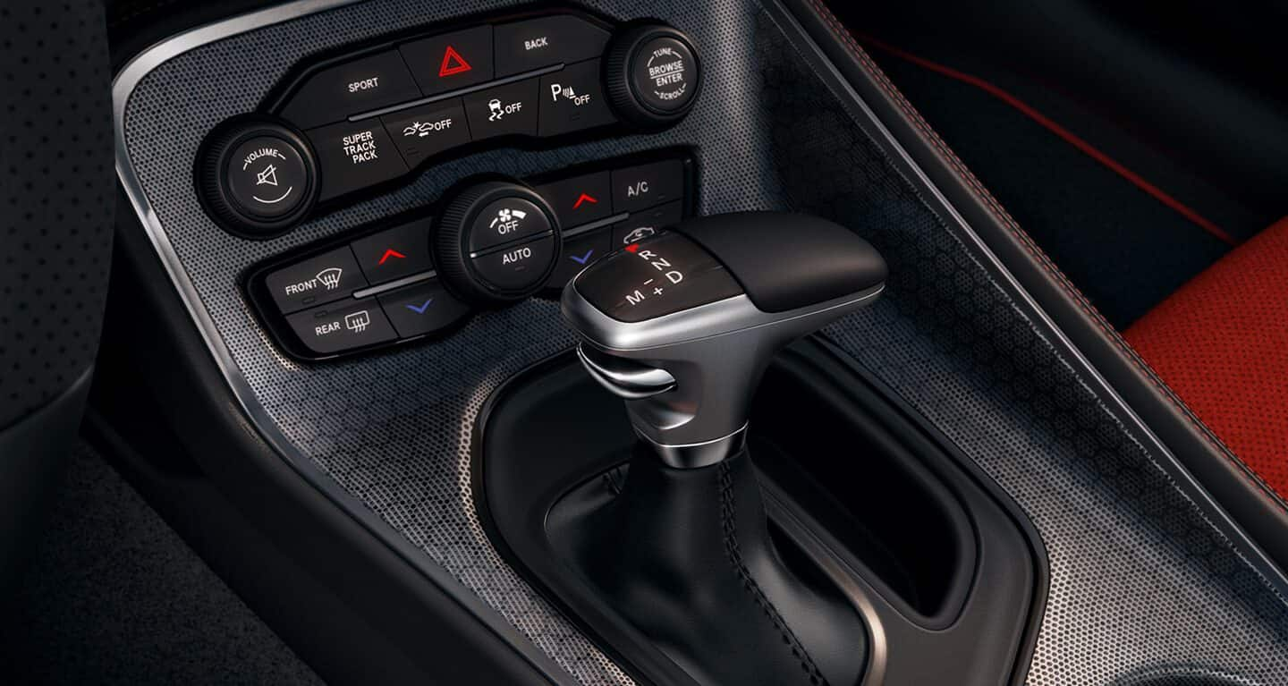 Sporty Amenities in the 2019 Challenger