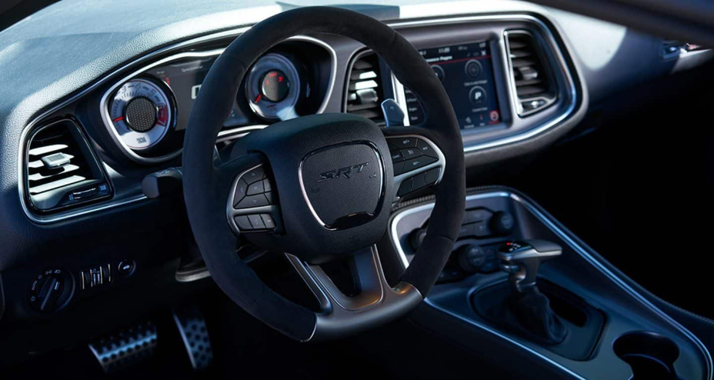 Interior of the 2019 Dodge Challenger