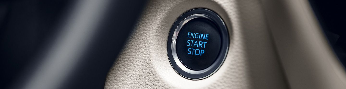 Push Button Start in the 2020 Toyota Corolla