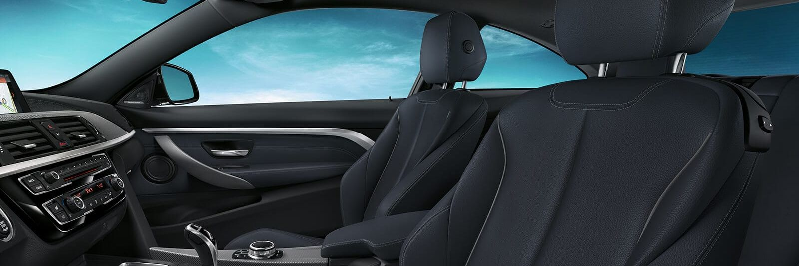 Spacious Cabin of the 2019 BMW 4 Series