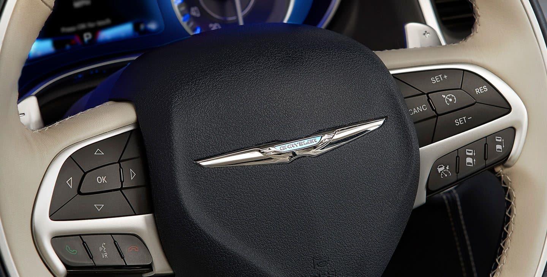 Steering Wheel of the 2019 Chrysler 300