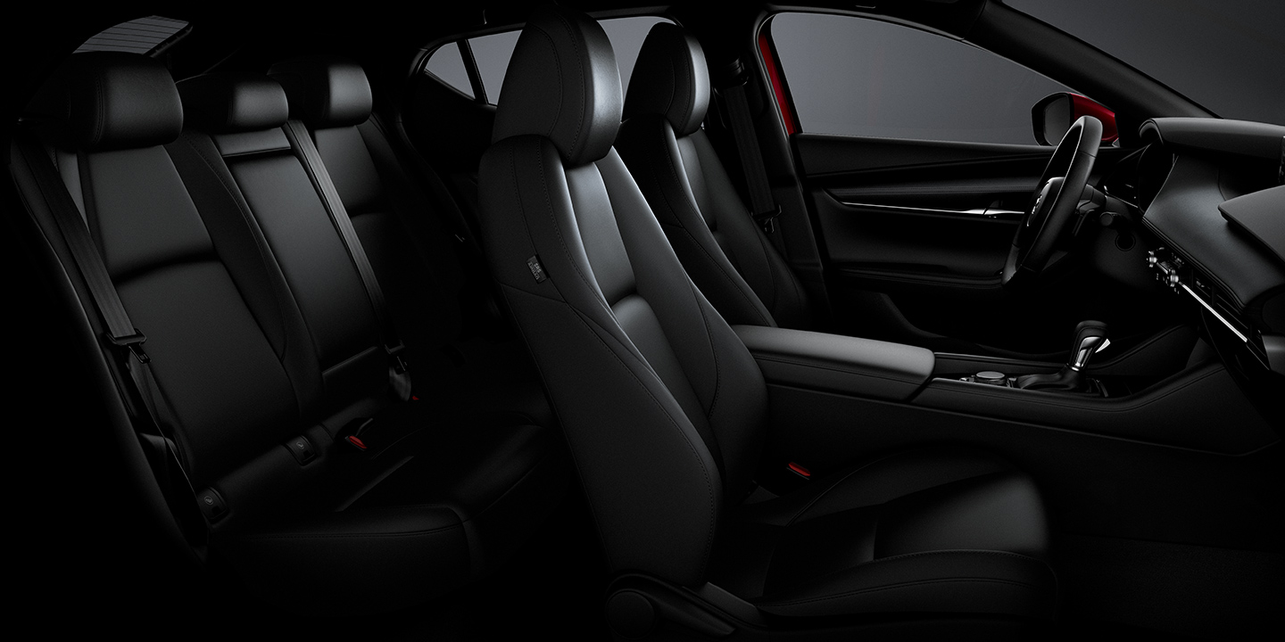Available Leather Upholstery for the Mazda3