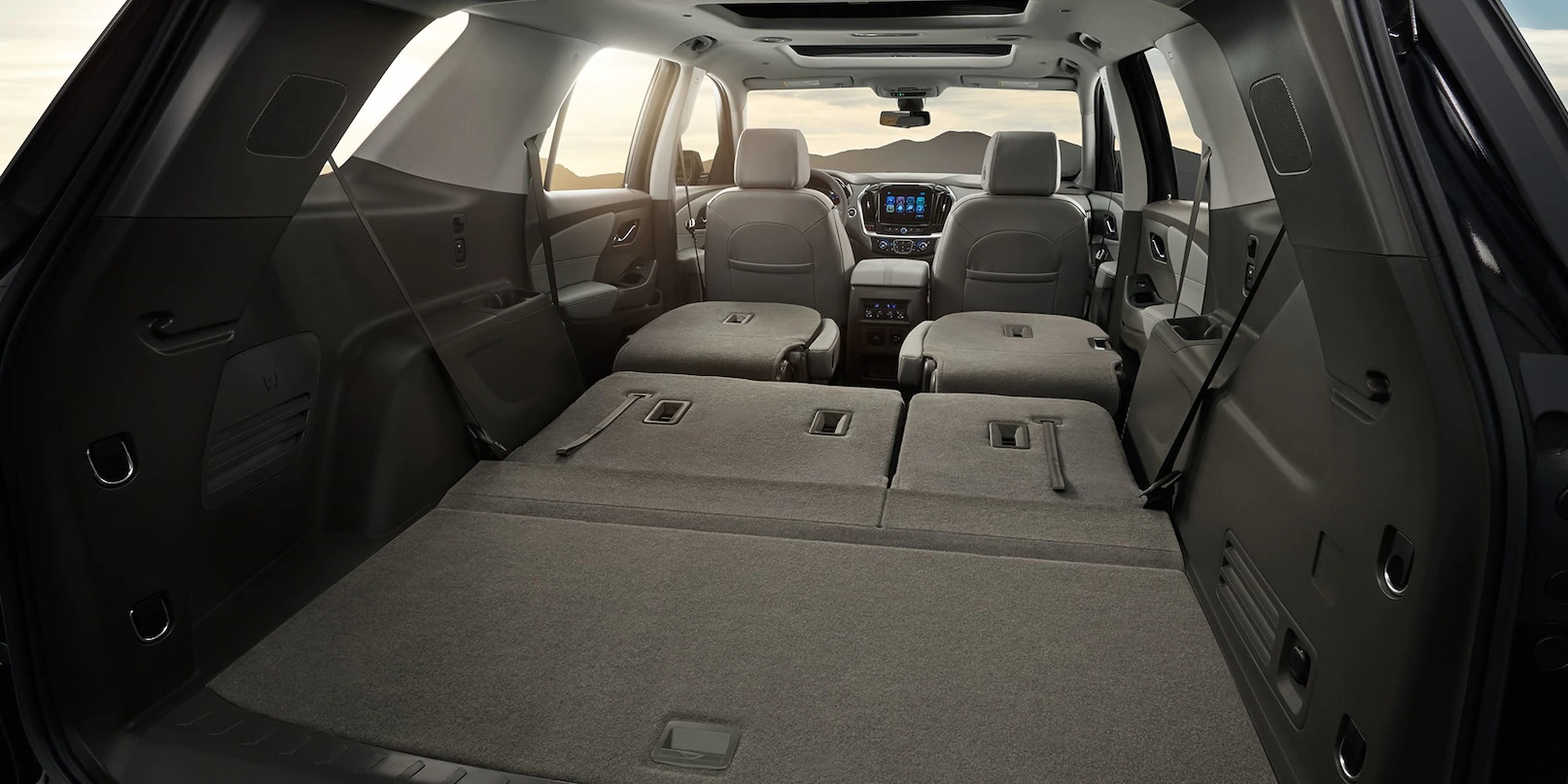 There's Plenty of Room For All Your Items in the Traverse!