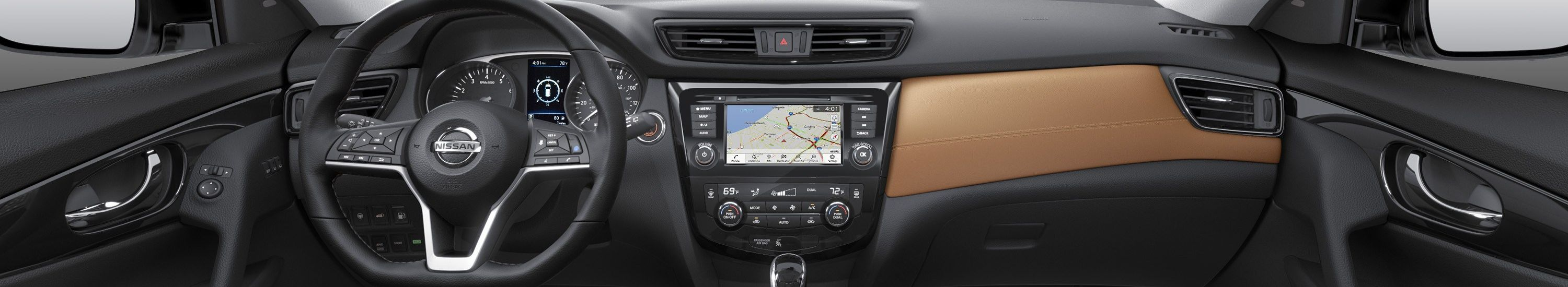2019 Nissan Rogue Center Console