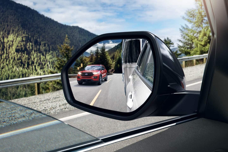 Blind Spot Monitor in the 2020 Ford Explorer