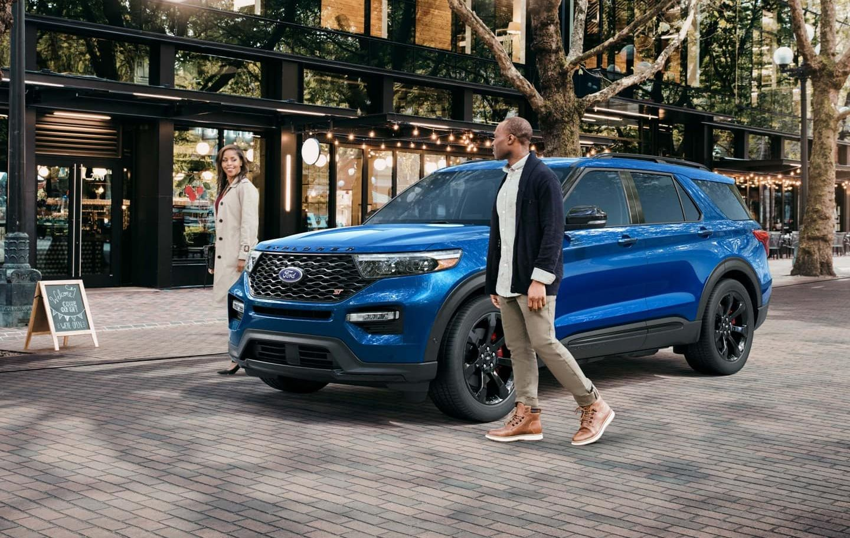 2020 Ford Explorer vs 2019 Honda Pilot near Antioch, IL