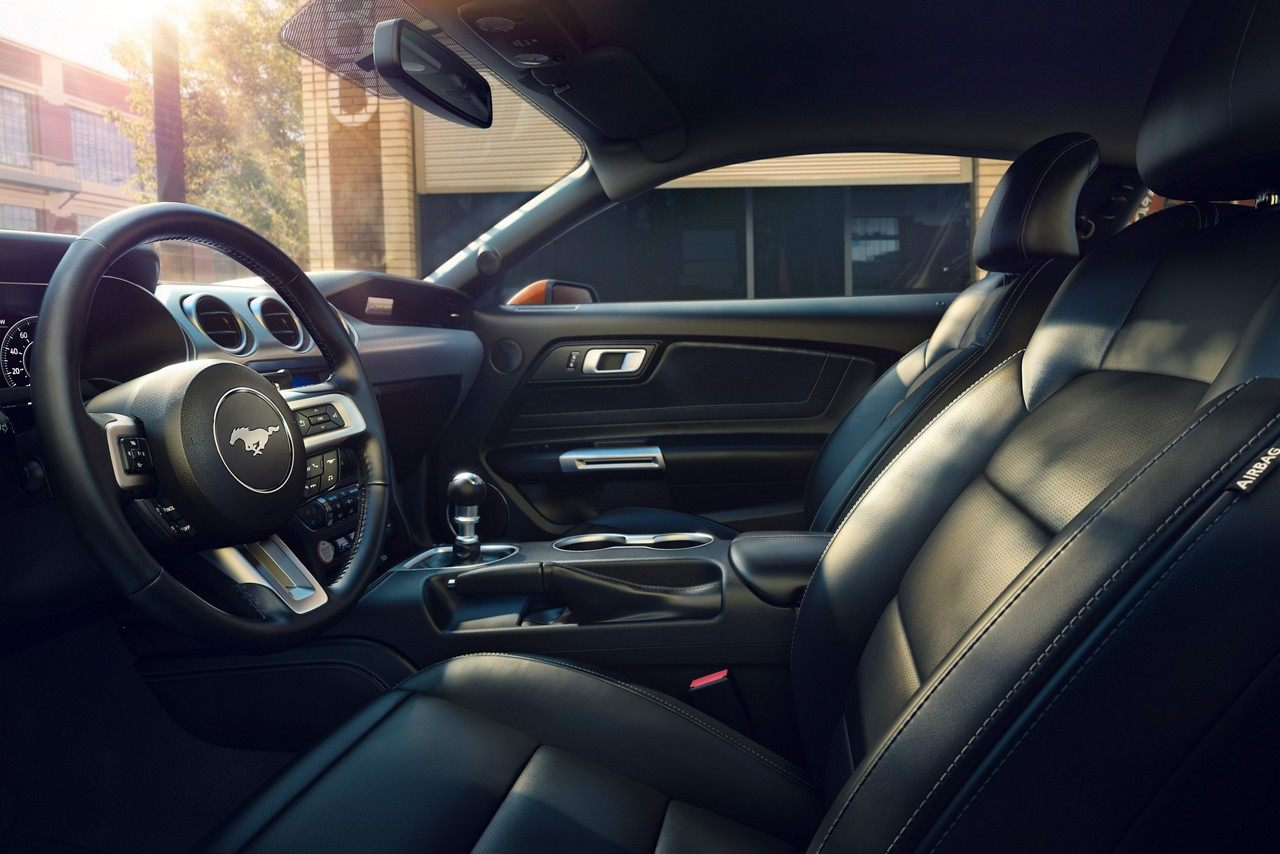 Upscale Cabin of the 2019 Ford Mustang