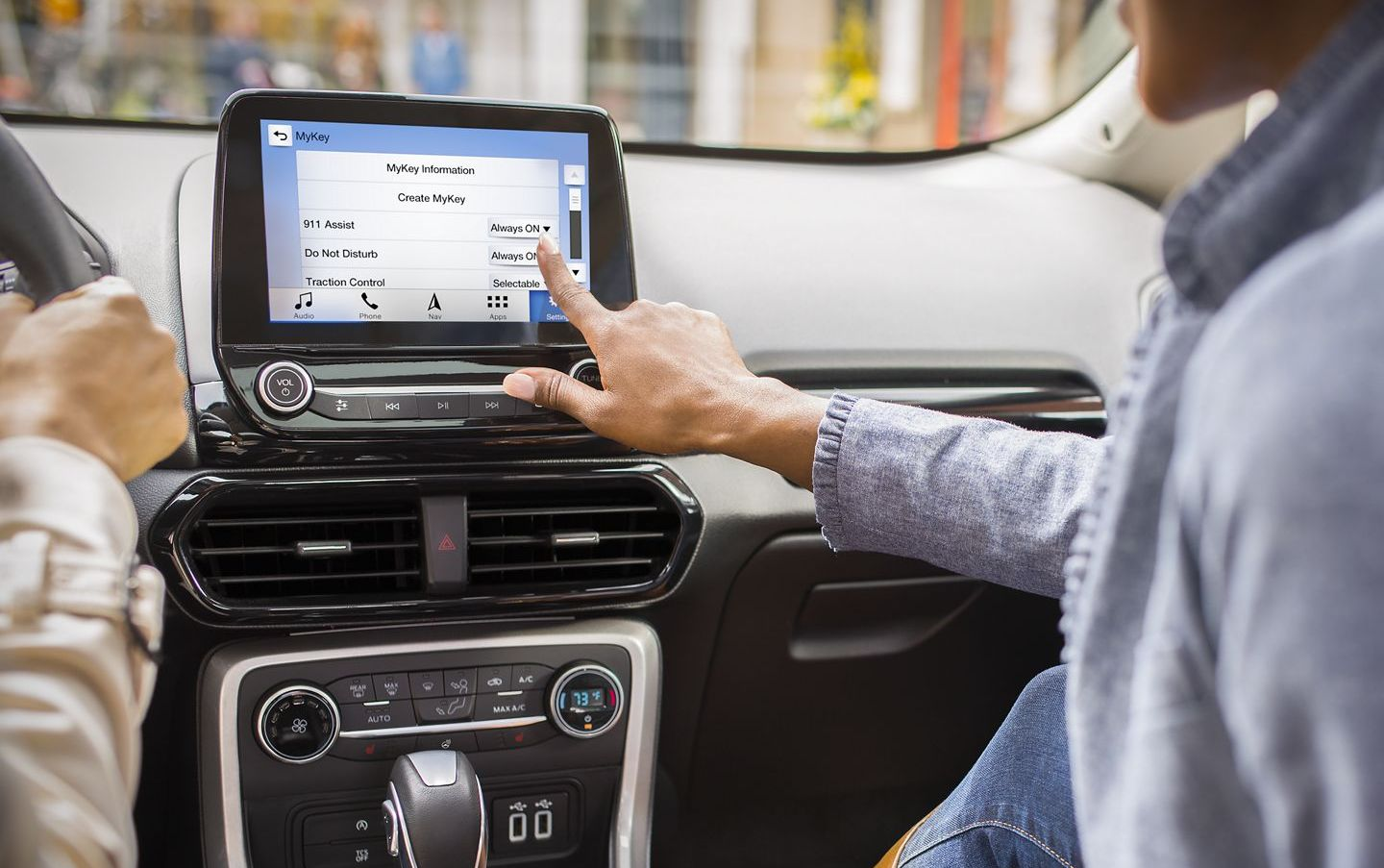 Infotainment in the 2019 EcoSport