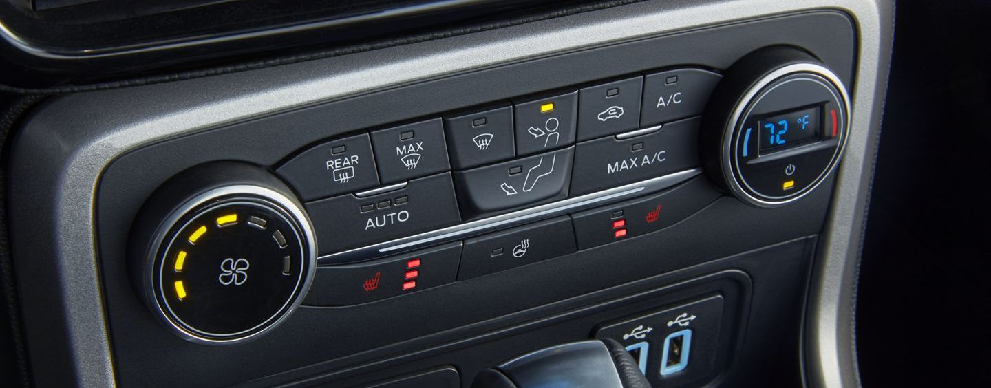 Climate Control in the 2019 EcoSport