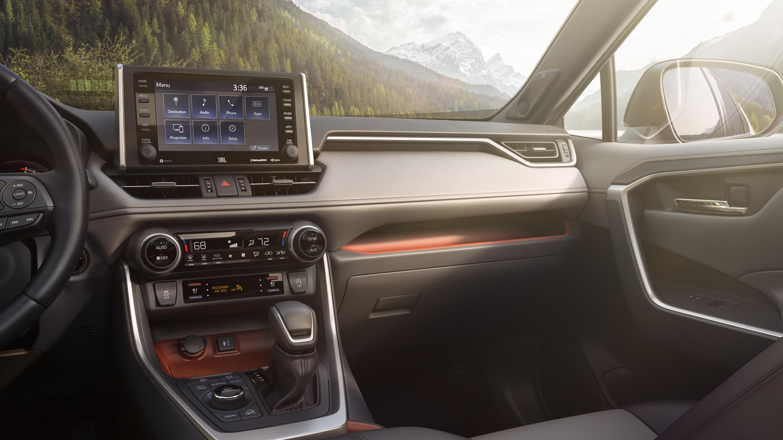 2019 Toyota RAV4 Cockpit
