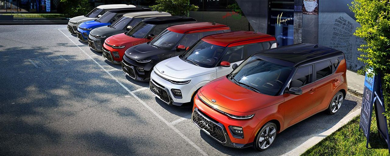 Stunning Array of Exterior Options for the 2020 Soul!