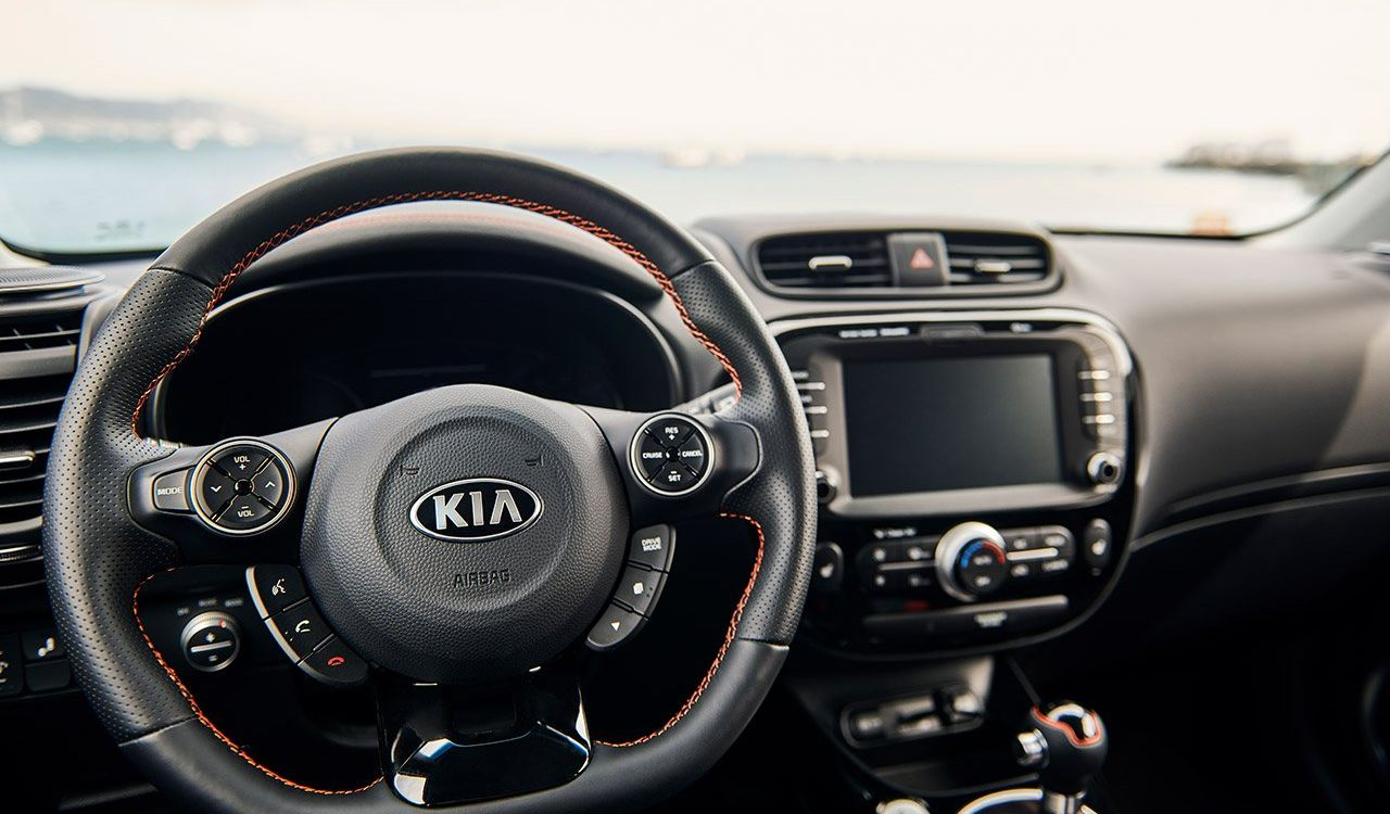 Steering Wheel of the 2020 Kia Soul