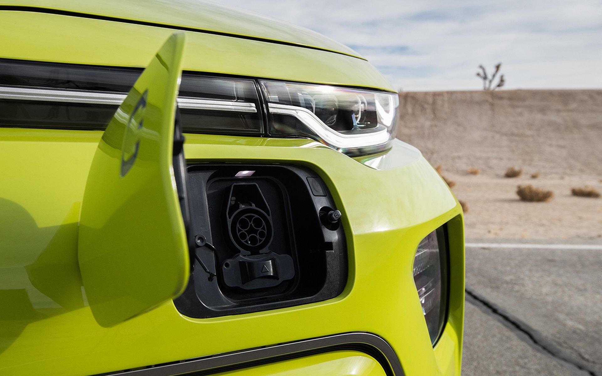 Charging Port of the 2020 Soul EV
