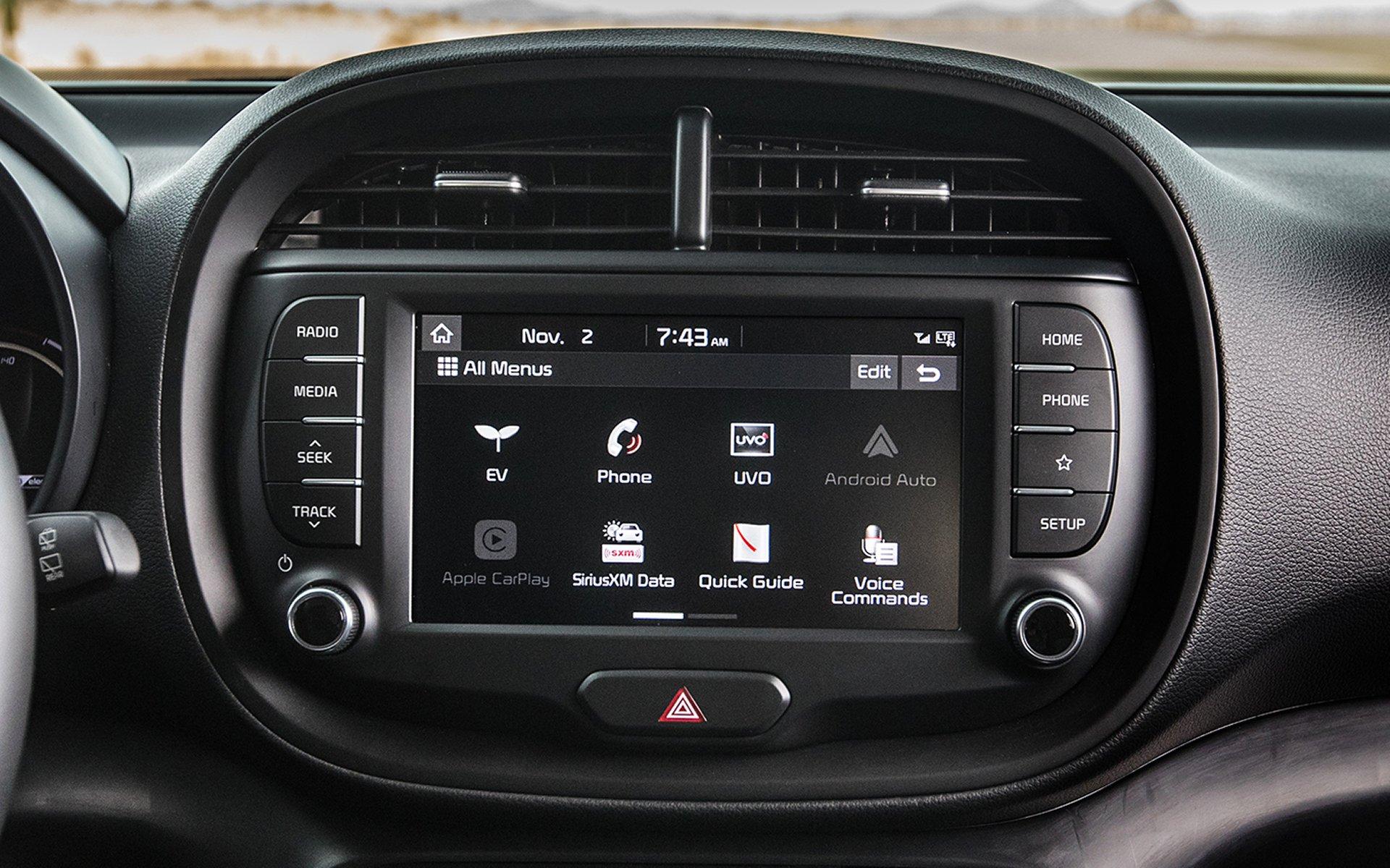 Technology in the 2020 Kia Soul EV