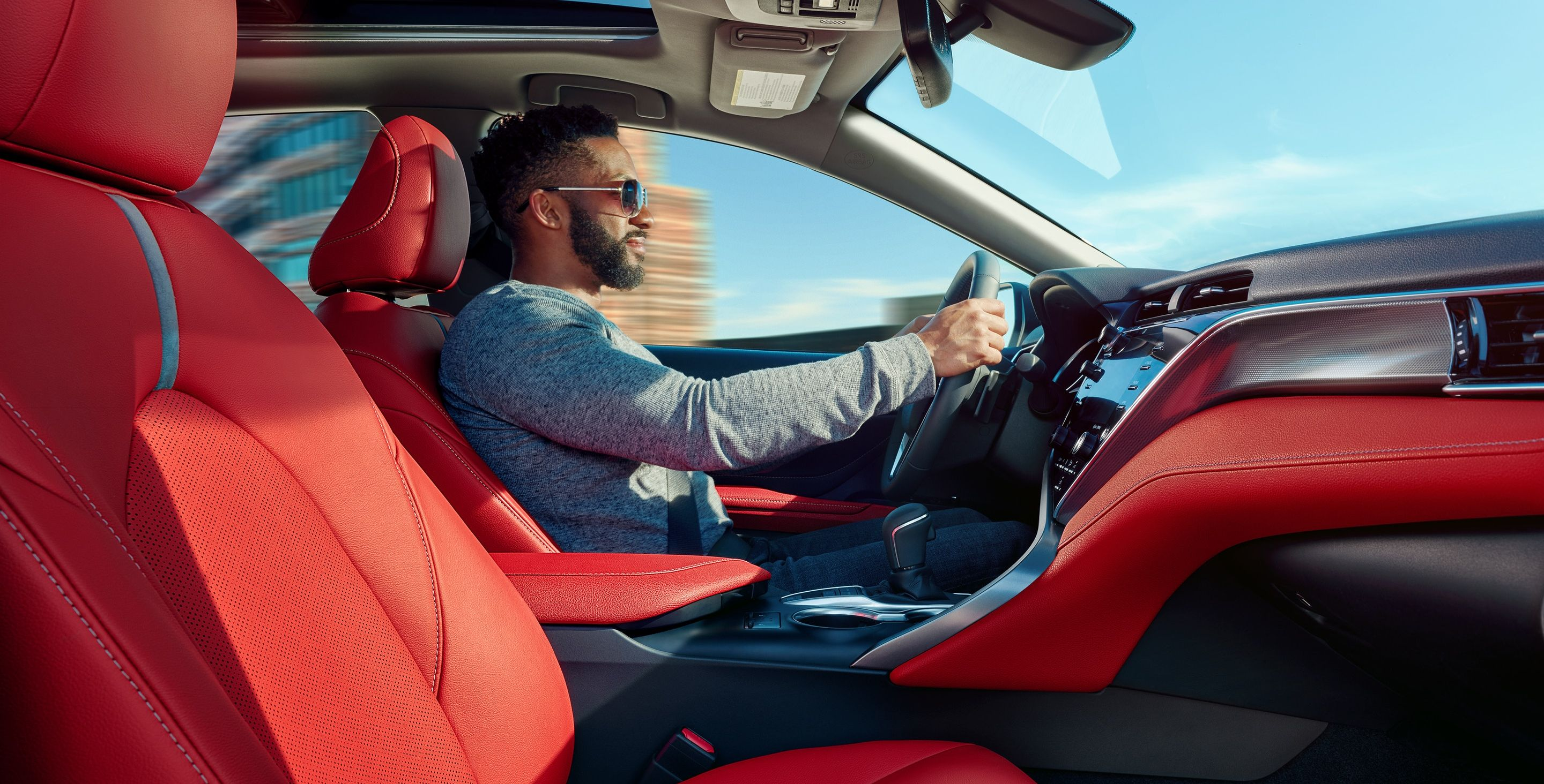 Stylish Interior of the 2019 Toyota Camry