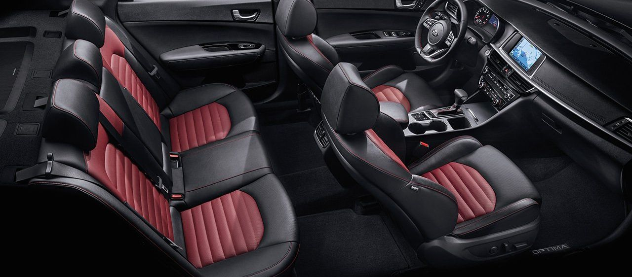 The Spacious Cabin of the Optima