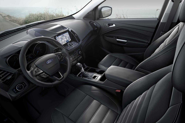 Interior of the 2019 Ford Escape