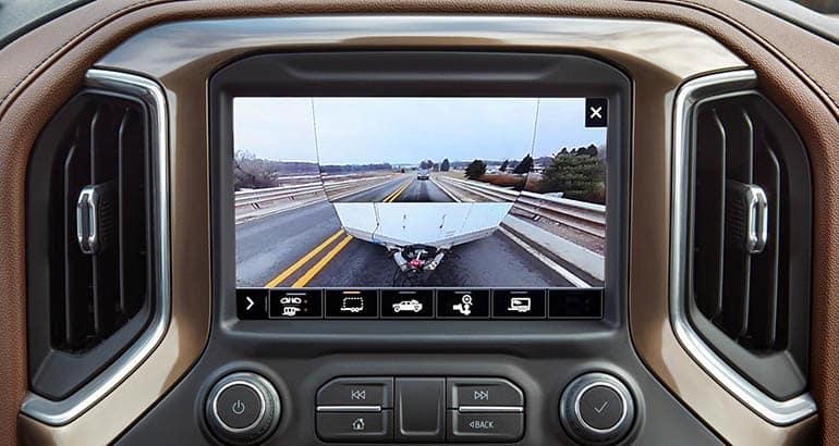 2020 Chevrolet Silverado HD Center Console