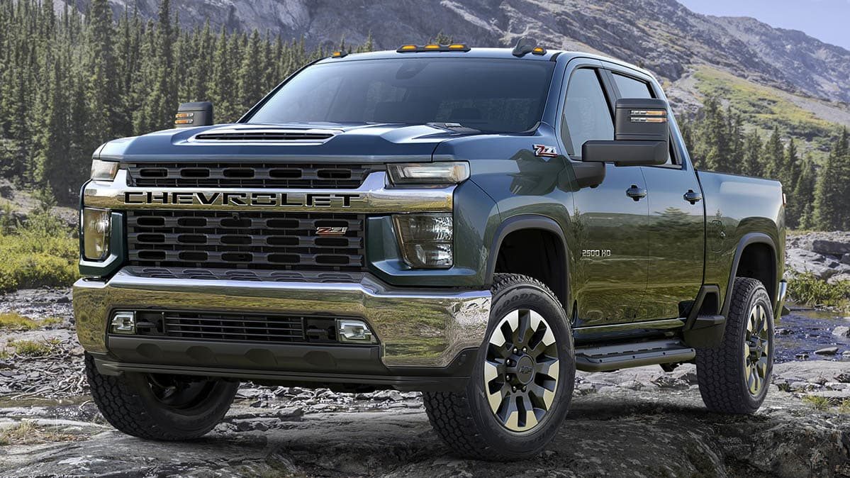 2020 Chevrolet Silverado HD Preview near Oceanside, CA