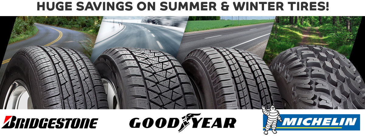 Need Tires? All Makes & Models Available!