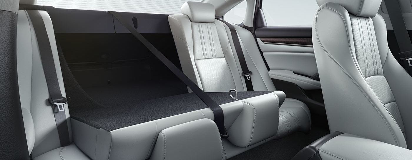 Generous Space in the Accord's Cabin