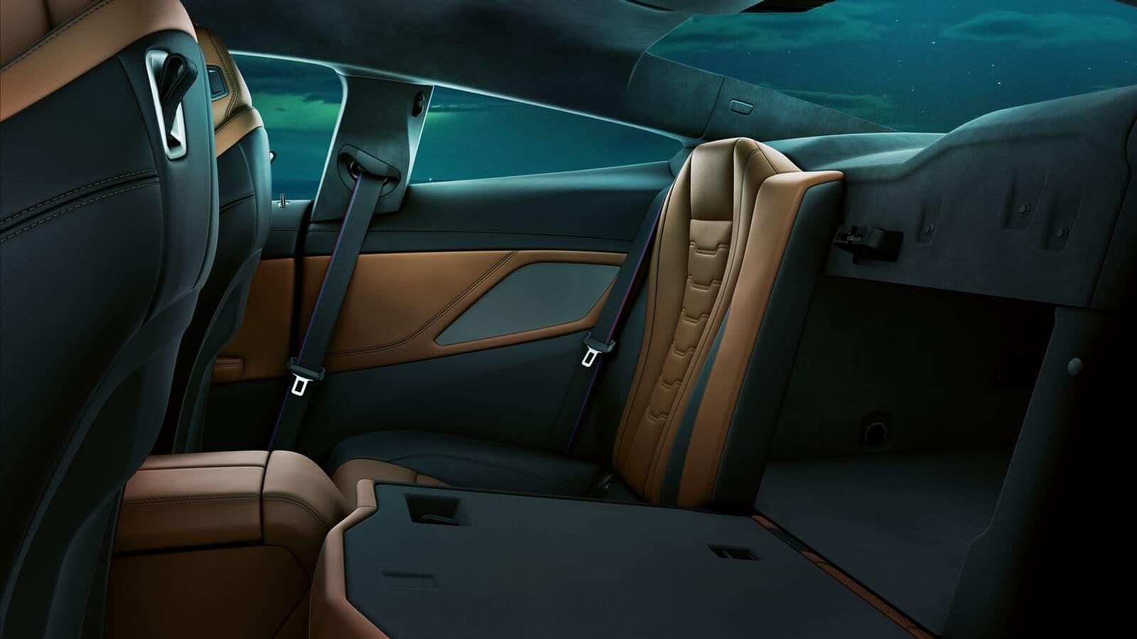 2019 BMW 8 Series Seating