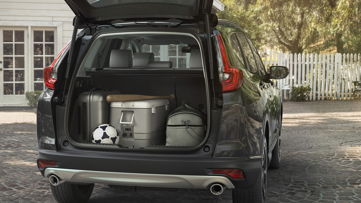 Pack All of Your Gear Easily into the CR-V!