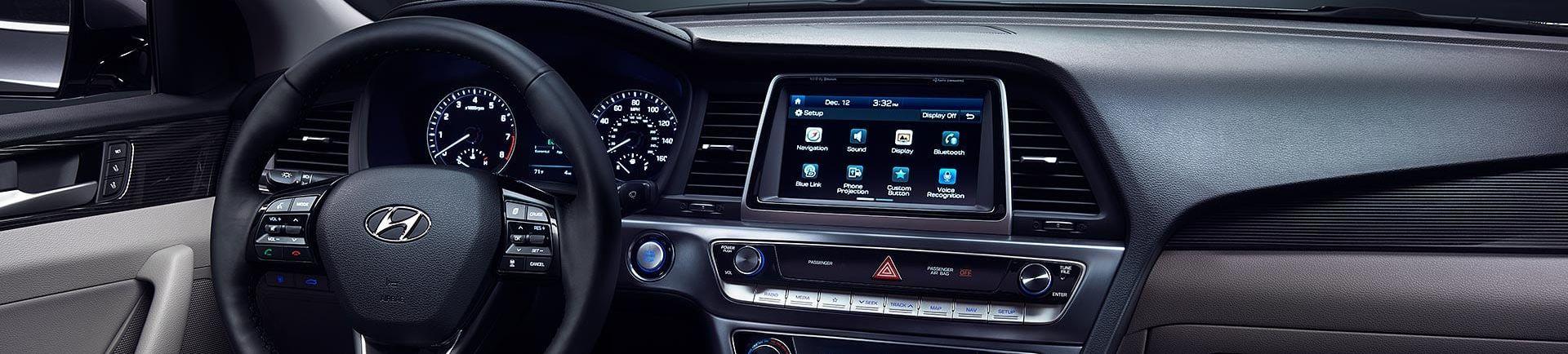 2019 Hyundai Sonata Center Console