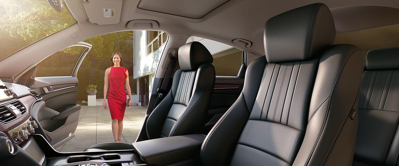 Interior of the 2019 Honda Accord Hybrid