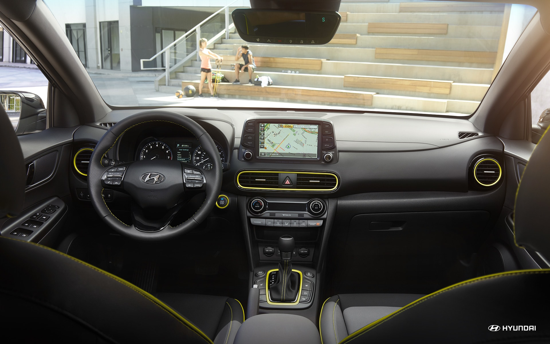 2019 Hyundai Kona Center Console