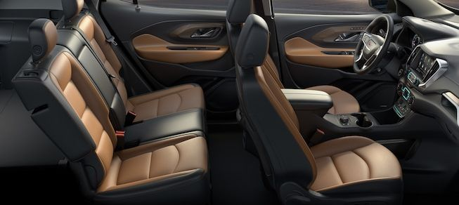 Luxurious Seating in the 2019 Terrain