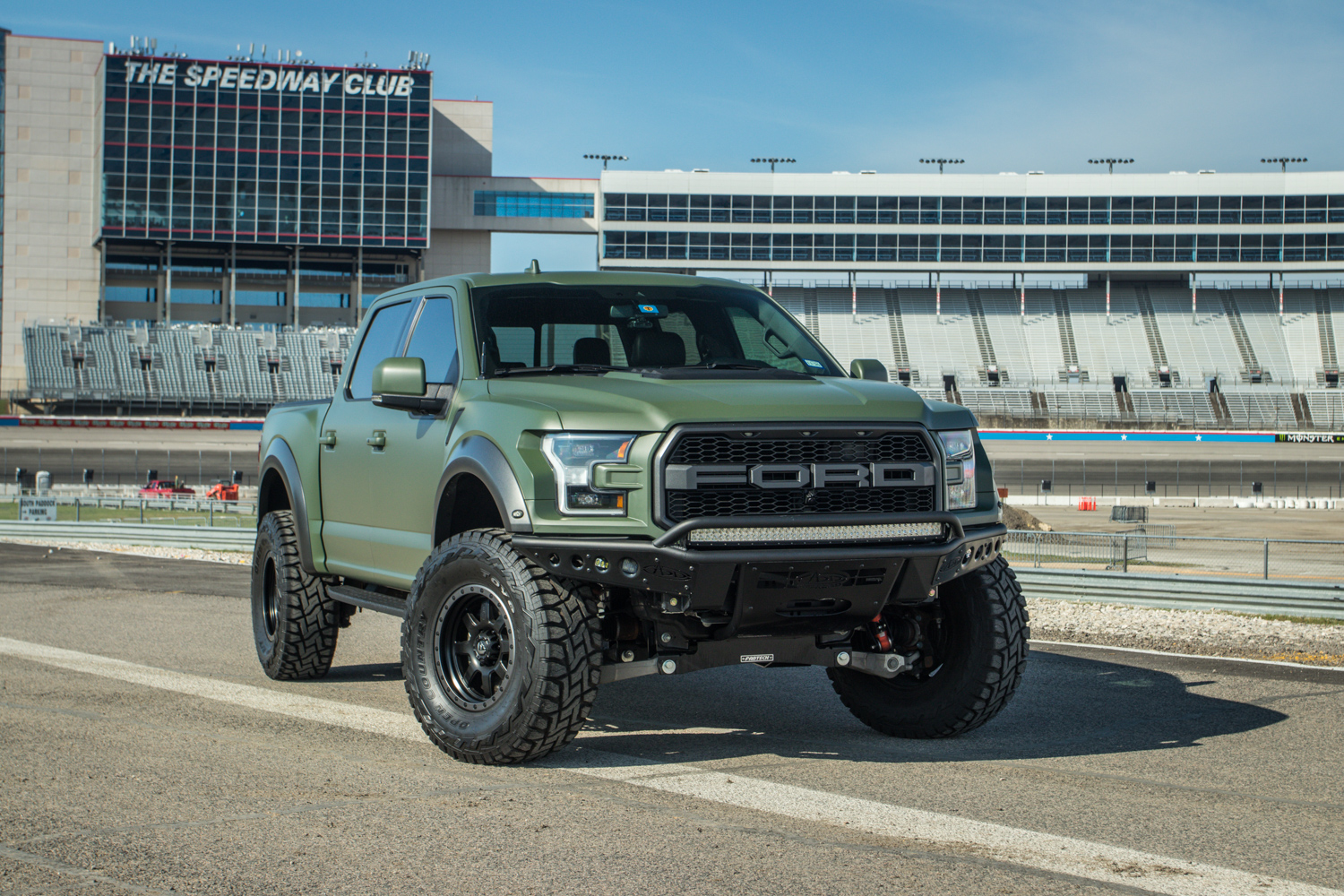2019 Ford F-150 Raptor 4 inch Fabtech Lift with ADD Offroad