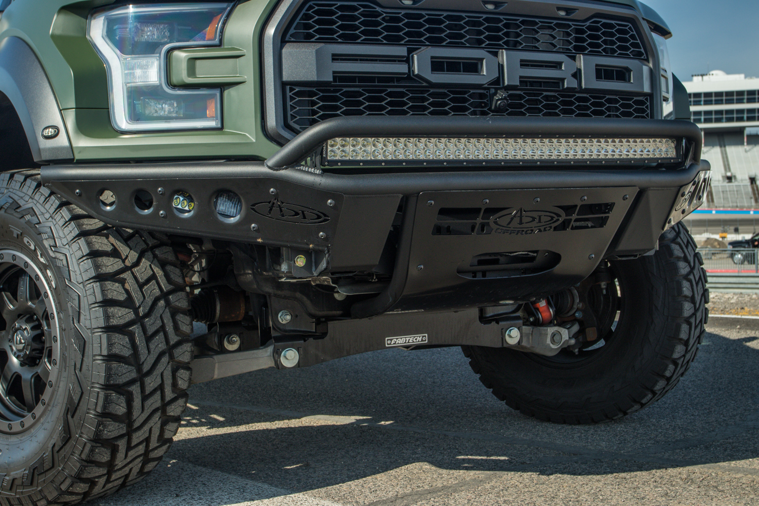 2019 Ford F 150 Raptor 4 Inch Fabtech Lift With Add Offroad Bumpers