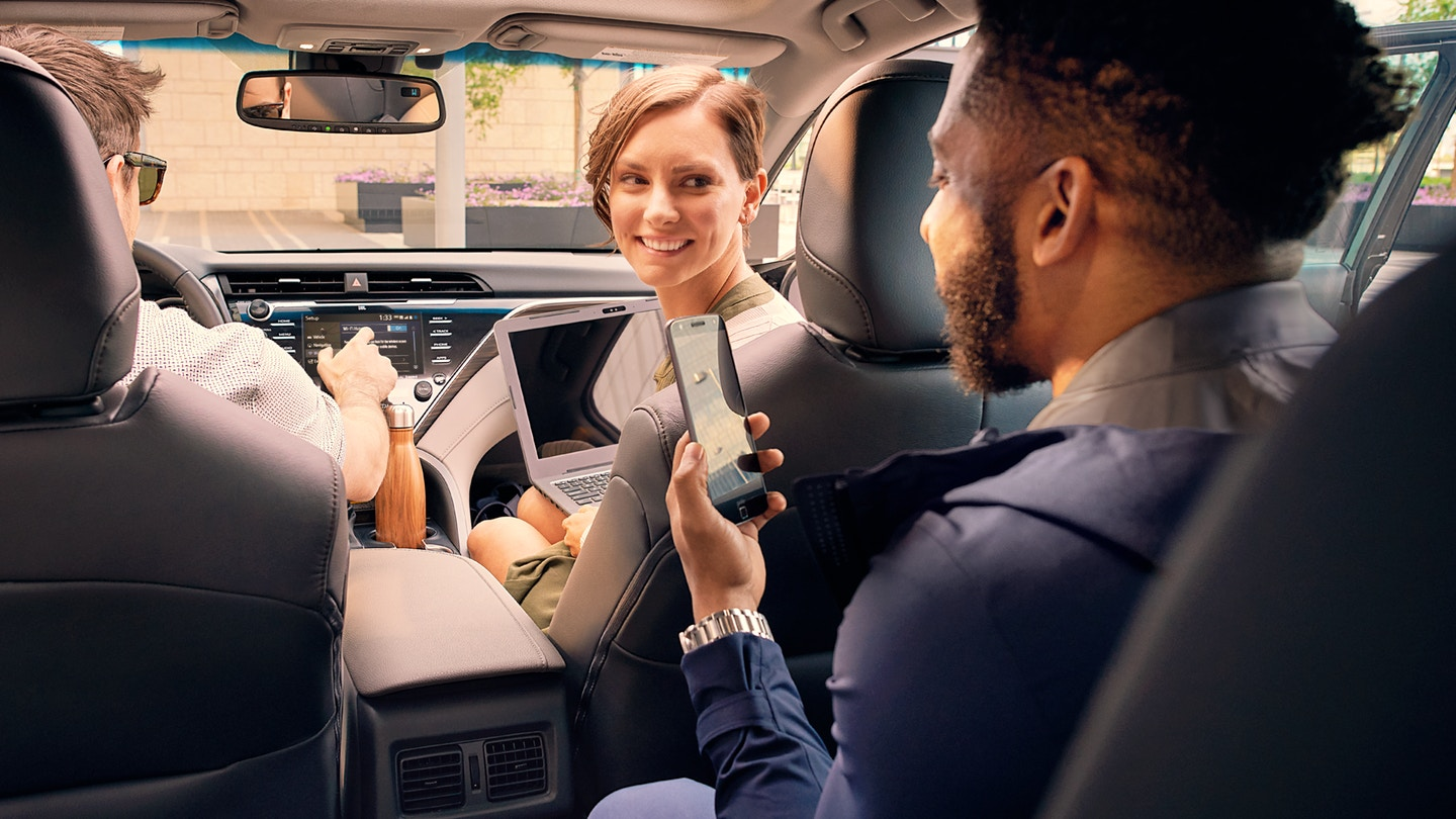 Bring Your Friends Along for the Ride in the 2019 Camry!