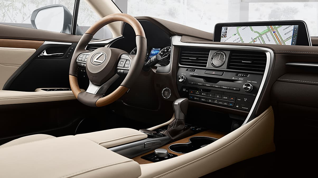 Luxurious Interior of the RX 350