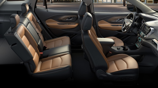 Plush Seating in the GMC Terrain