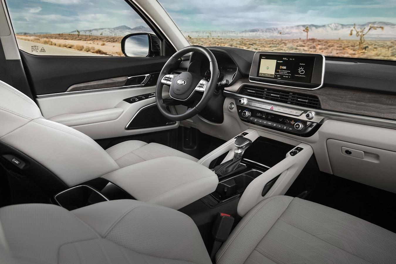 La Kia Telluride 2020 cuenta con una variedad de funciones de tecnología disponibles
