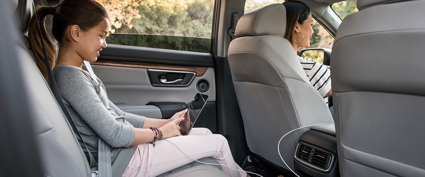 Interior of the 2019 CR-V