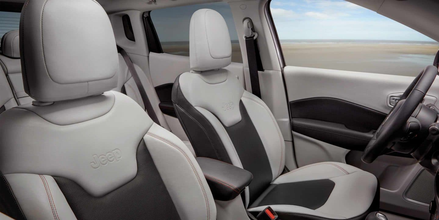 You'll Enjoy Full Comfort in the Compass During Every Drive!