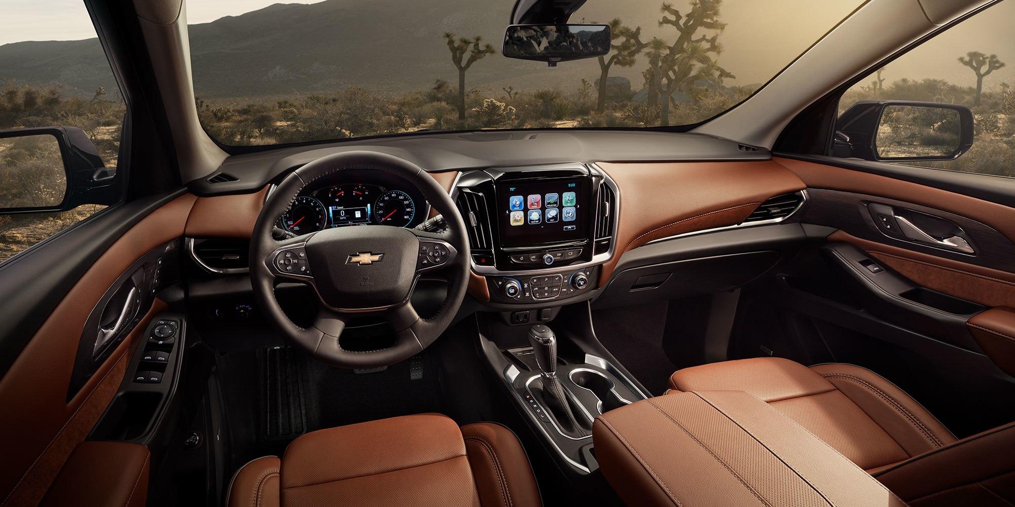 2019 Chevrolet Traverse Cockpit